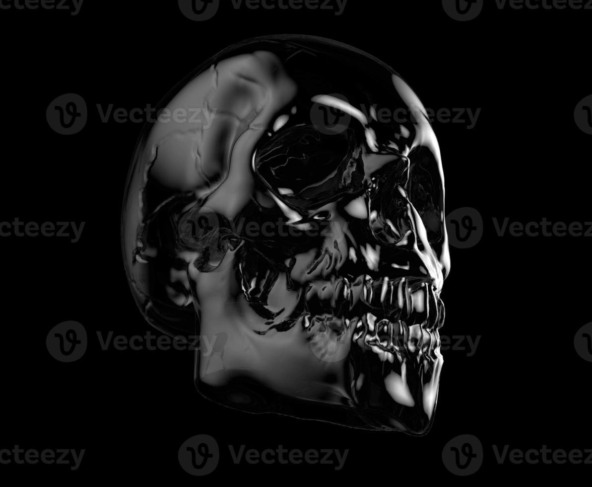 menschlicher Schädel foto