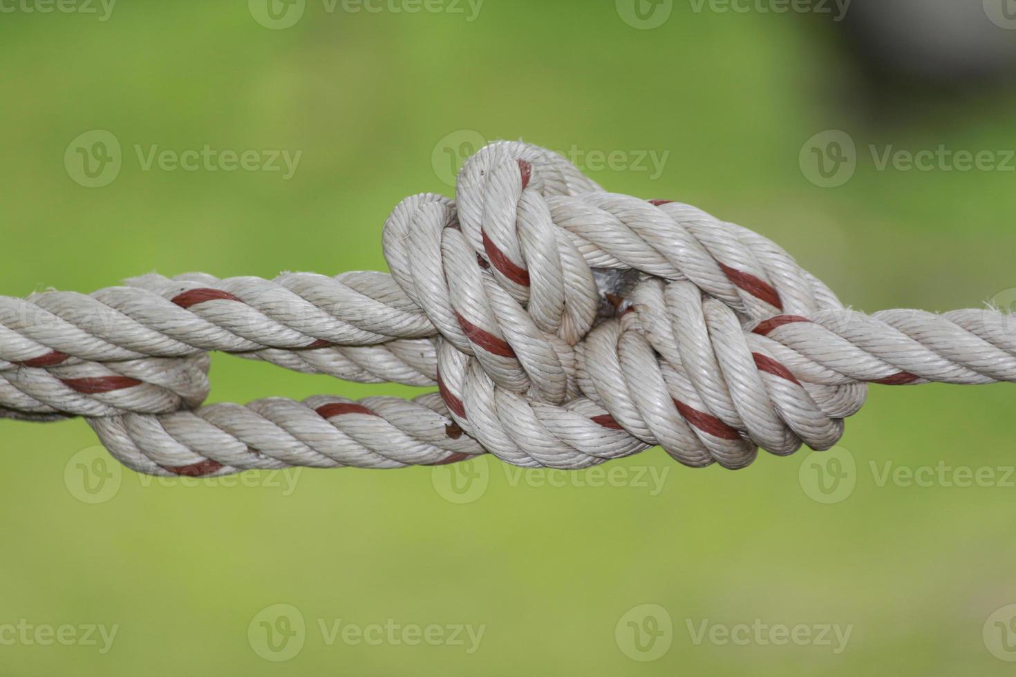 Seilknoten Nahaufnahme foto