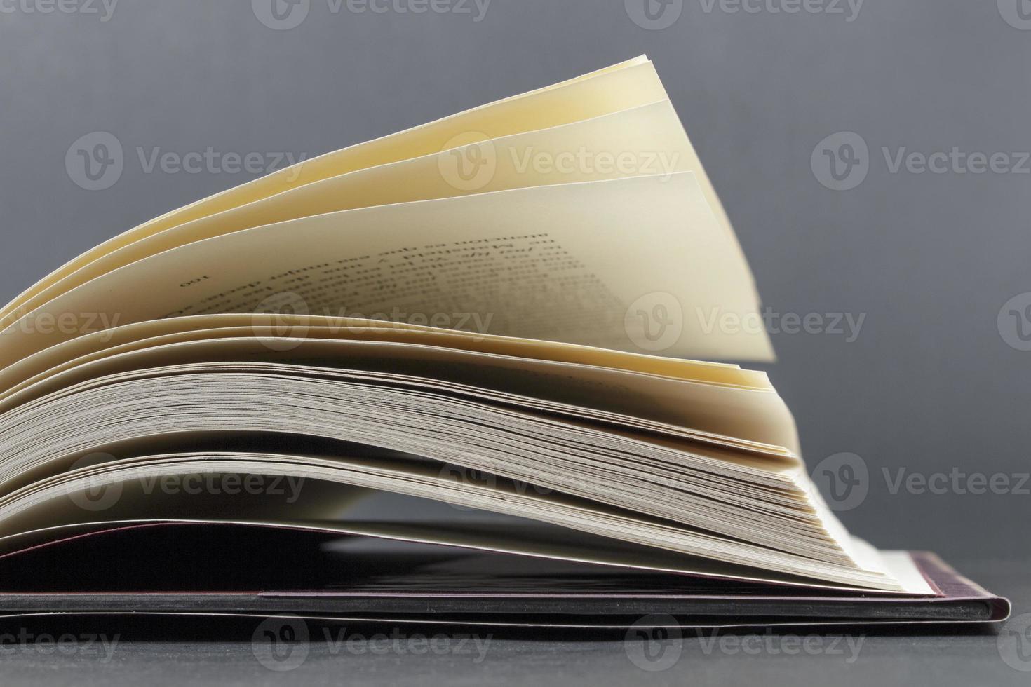 Buchseiten foto