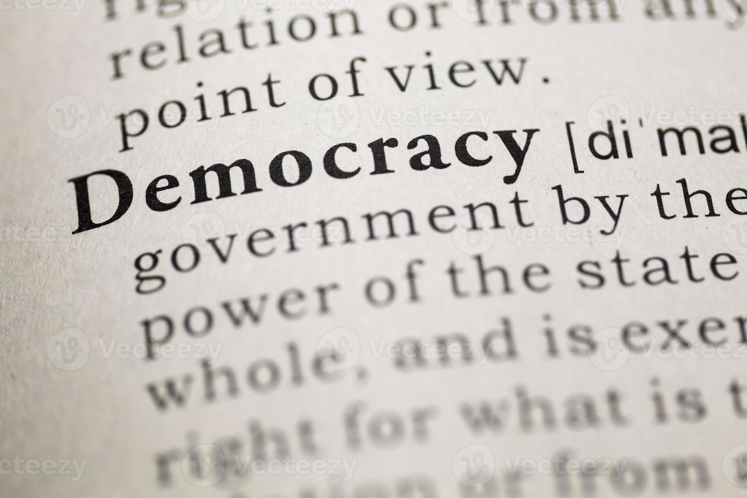 Demokratie foto