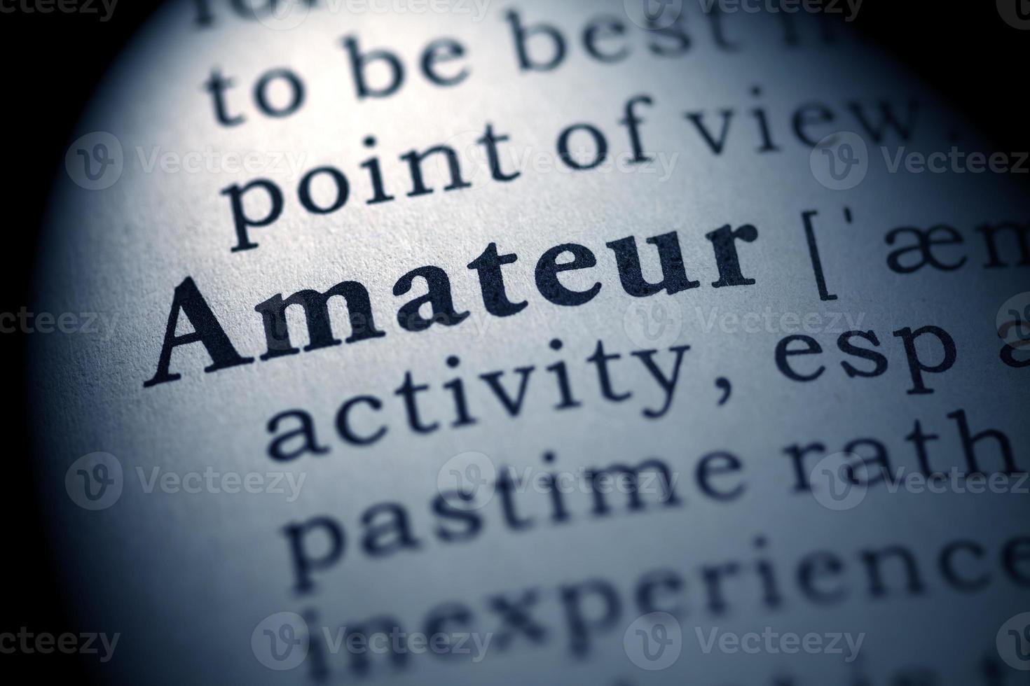 Amateur foto