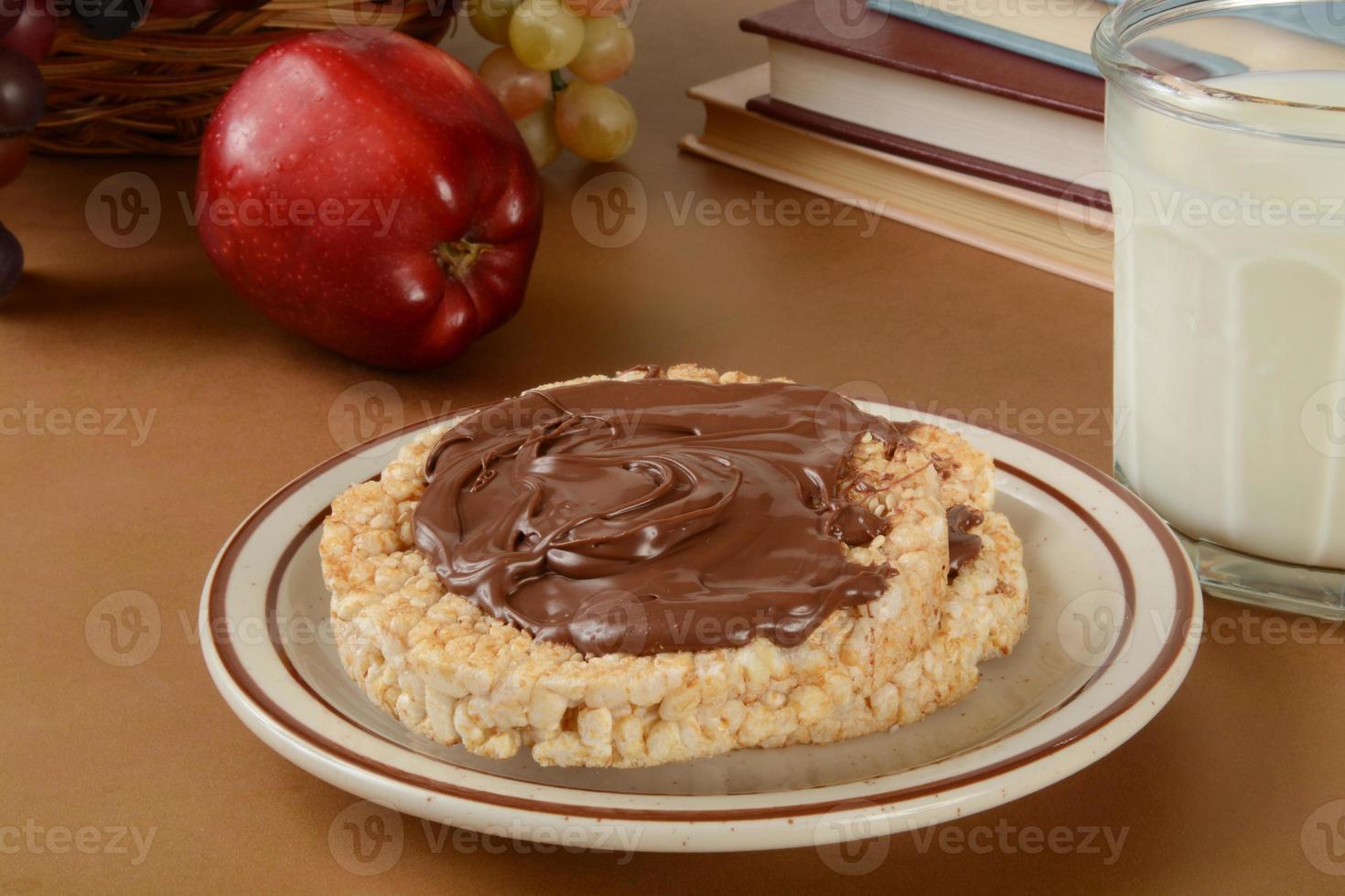 gesunder Snack nach der Schule foto