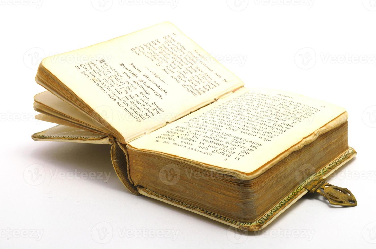 altes Geschichtsbuch foto