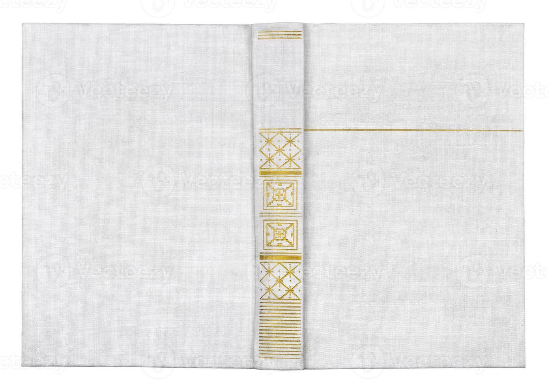 Buch isoliert auf weiß foto