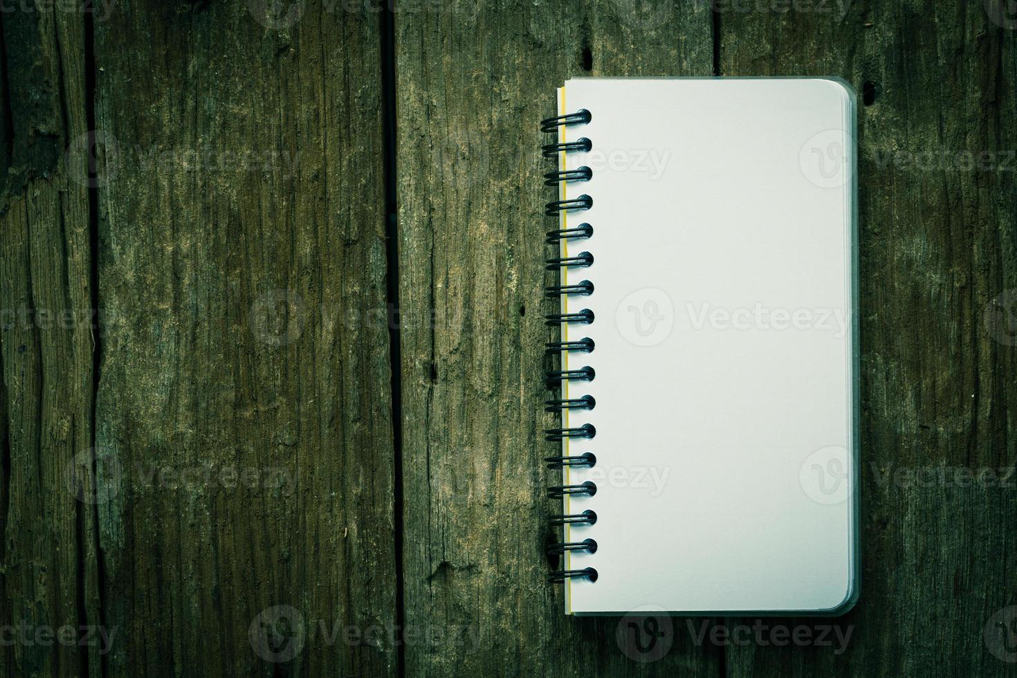 Notizbuch Papier foto