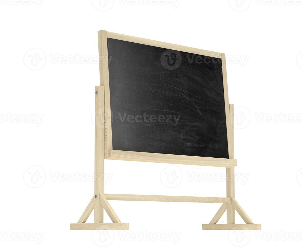 Tafel, Tafel lokalisiert auf Weiß foto