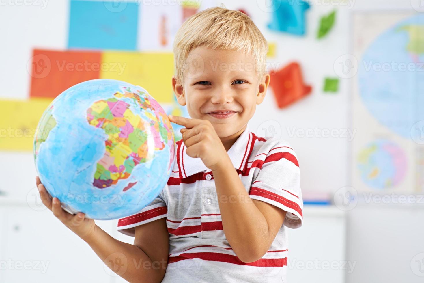 Geographie studieren foto