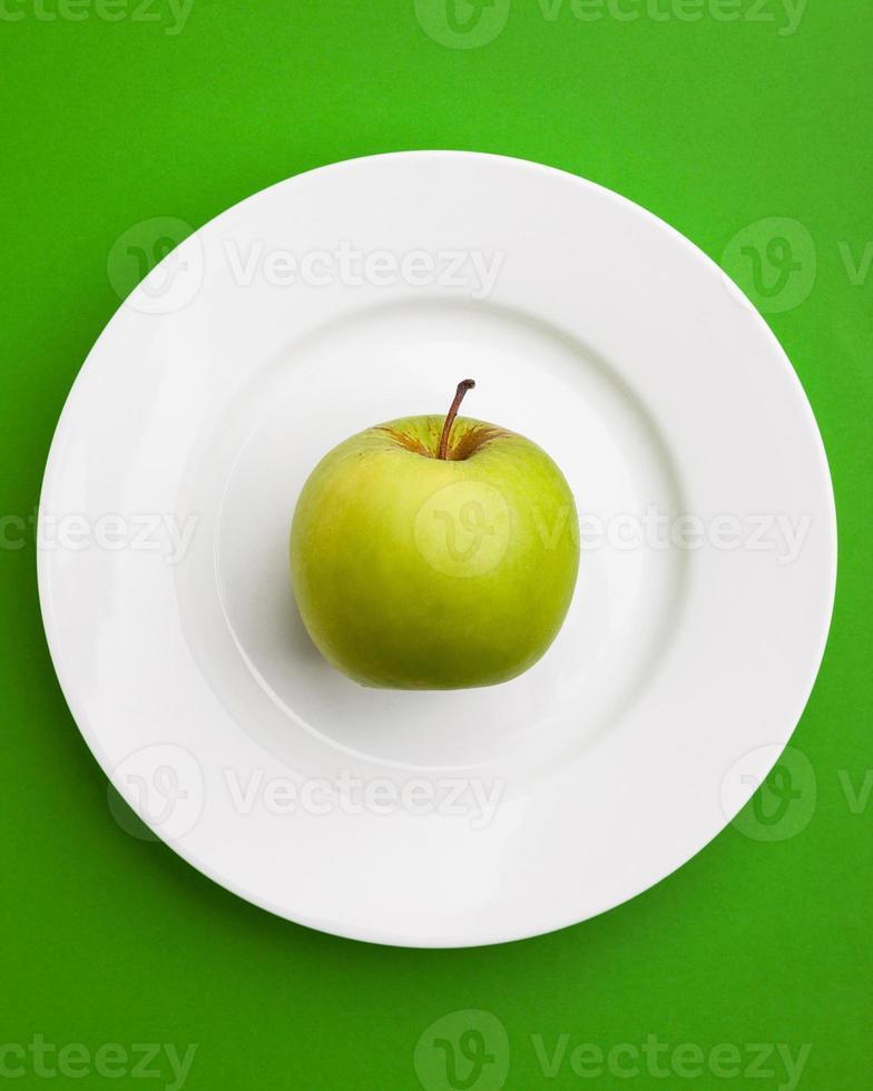 grüner Apfel foto