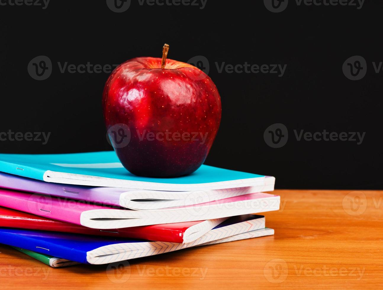 Zubehör für Schüler und Schüler. foto