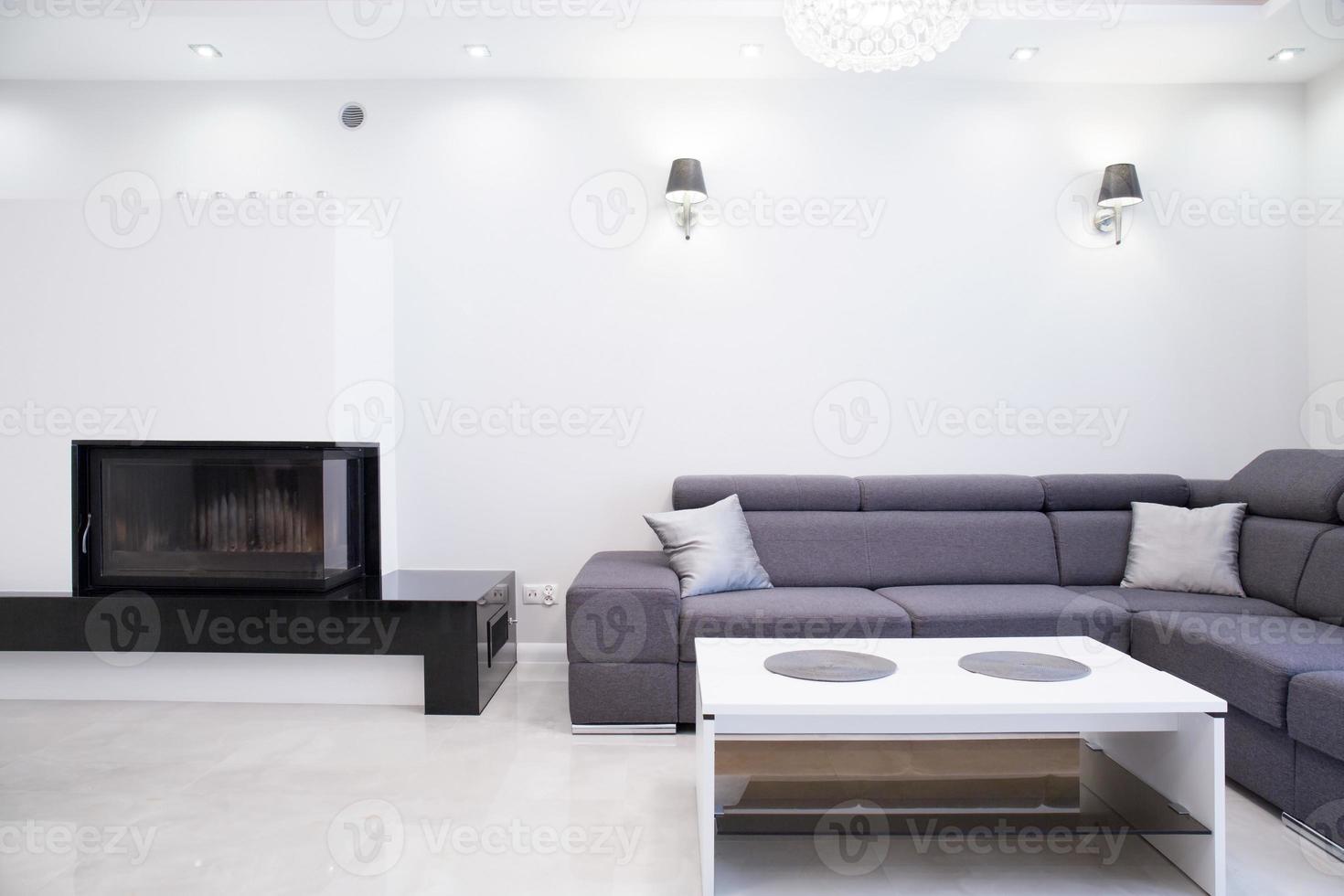 einfaches Wohnzimmer foto