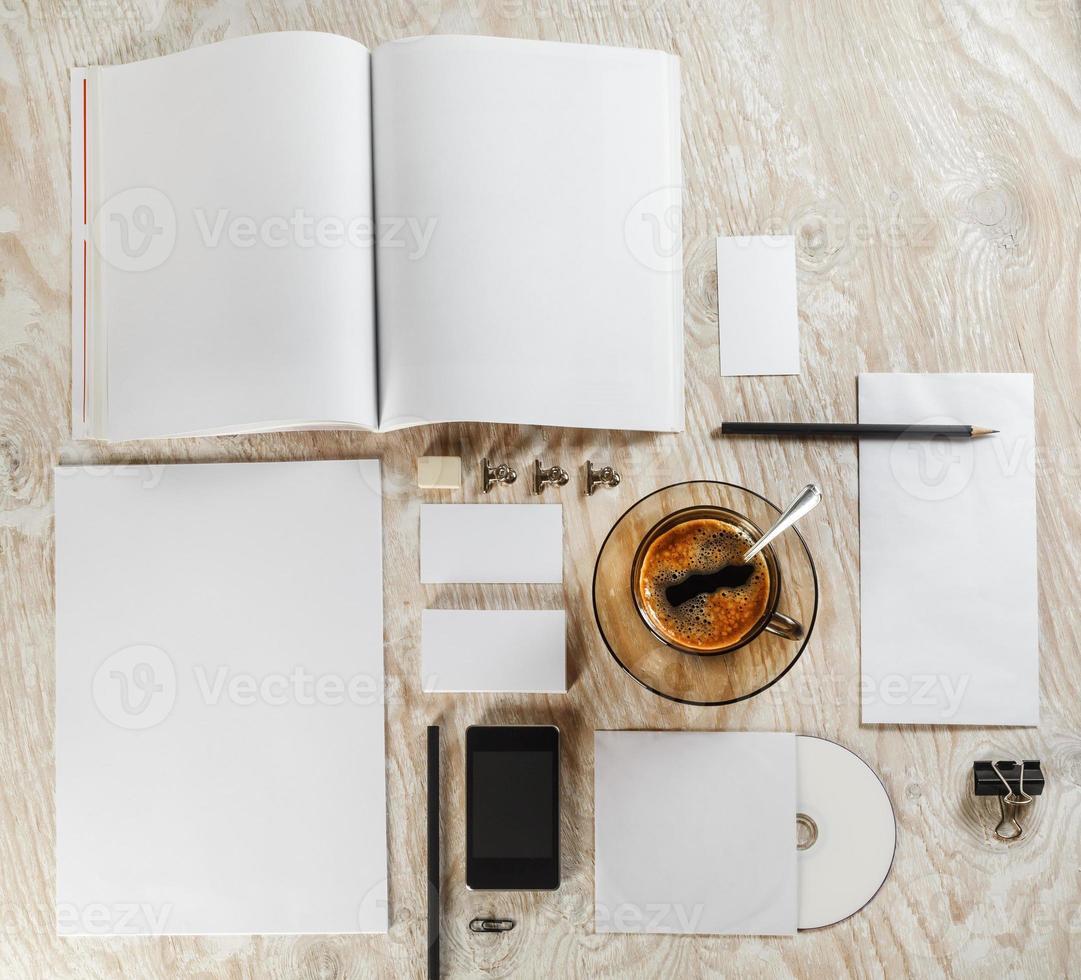 leeres Briefpapier-Set foto