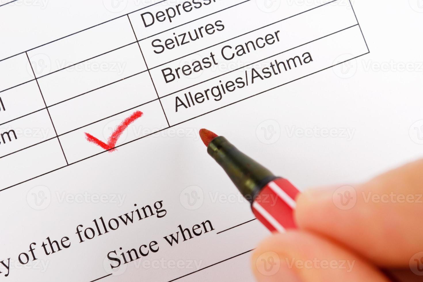 Asthma & Allergie foto