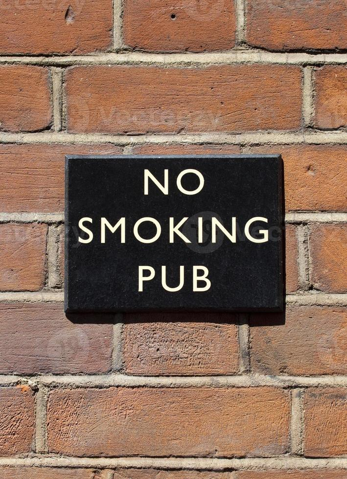 Nichtraucher Pub foto