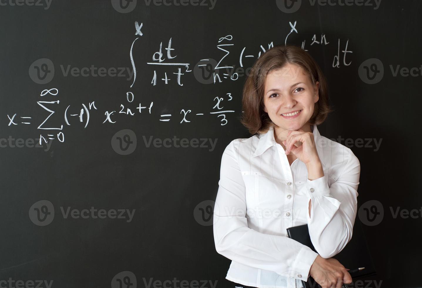 junger Lehrer foto