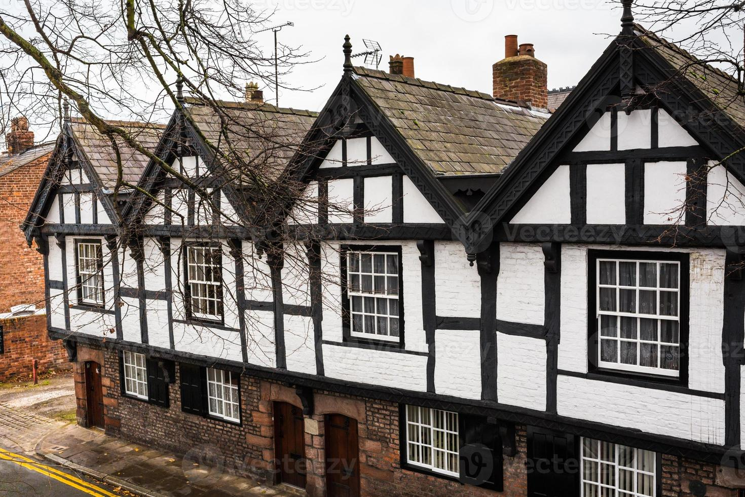 Tudor Gebäude foto