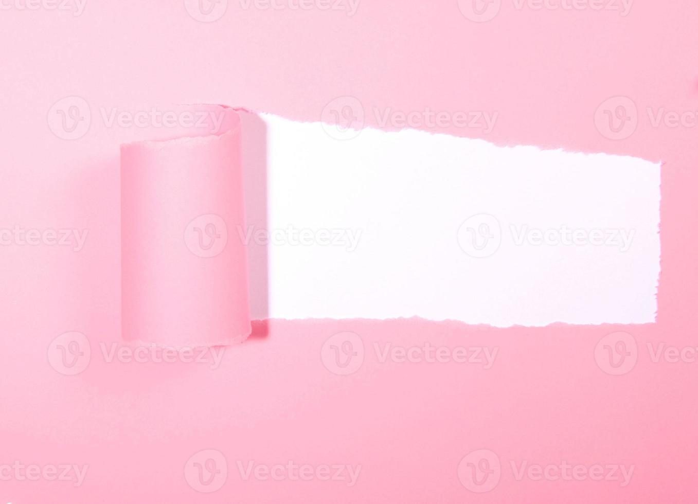 zerrissenes Papier foto