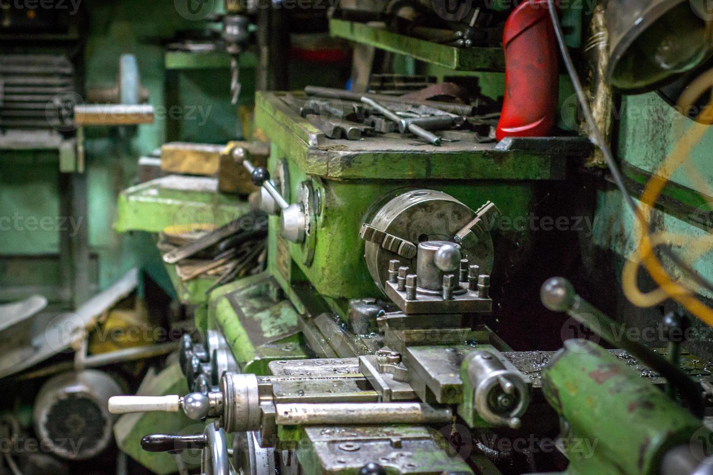 CNC-Drehmaschine alt foto