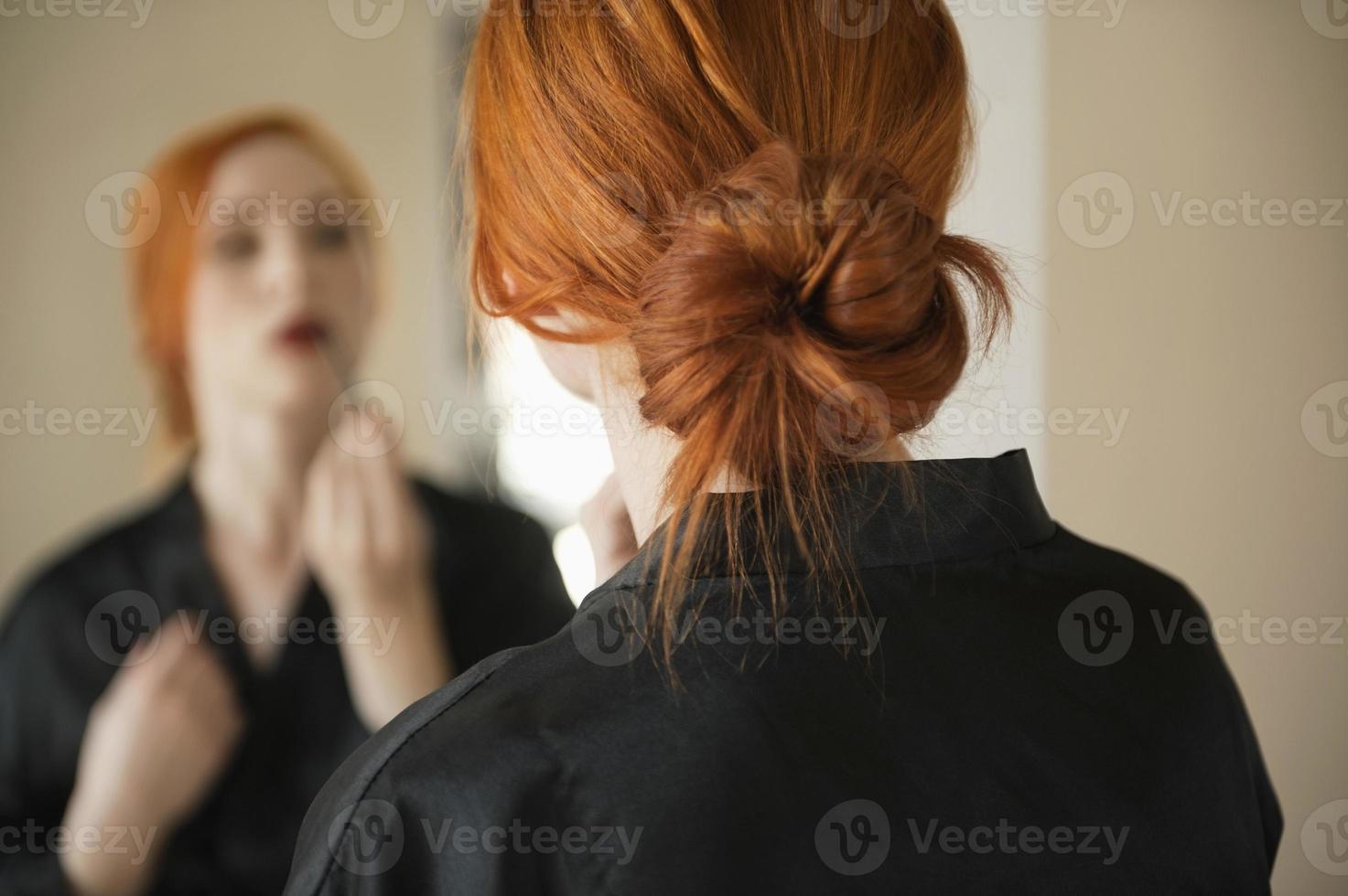 Porträt der schönen Frau foto