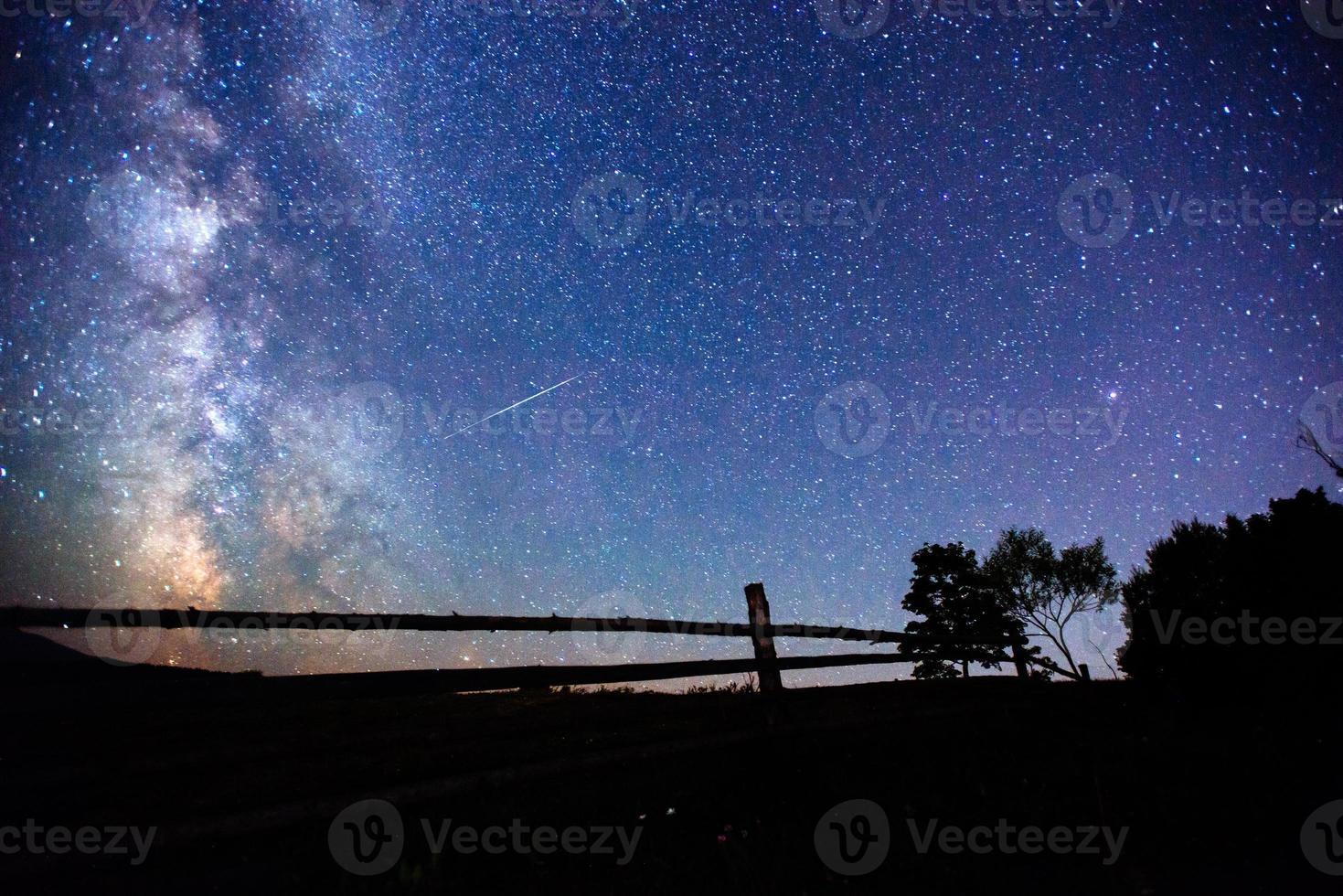 sternenklarer Himmel foto
