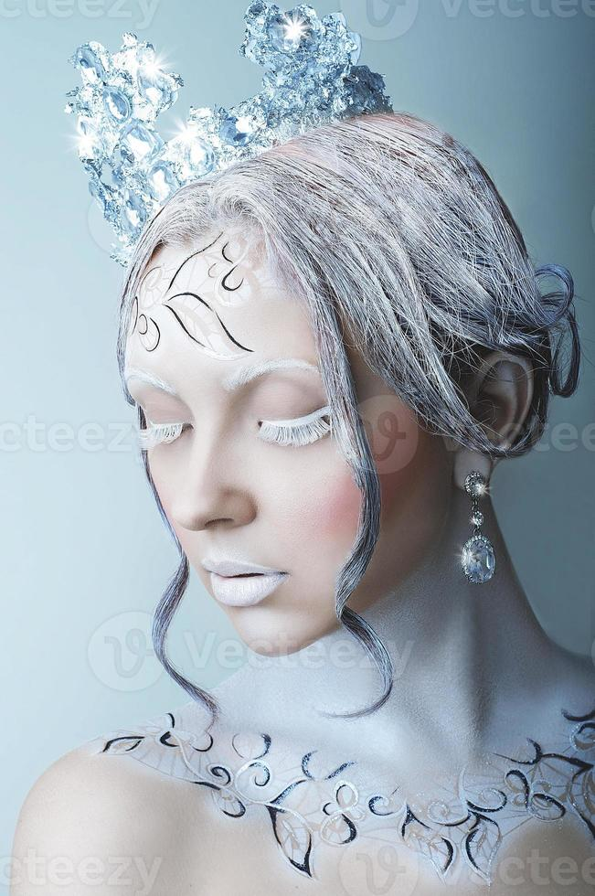 Eiskönigin Mädchen foto
