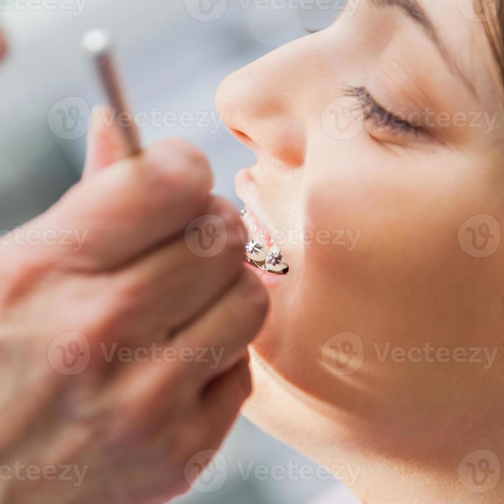 Zahnarztuntersuchung foto