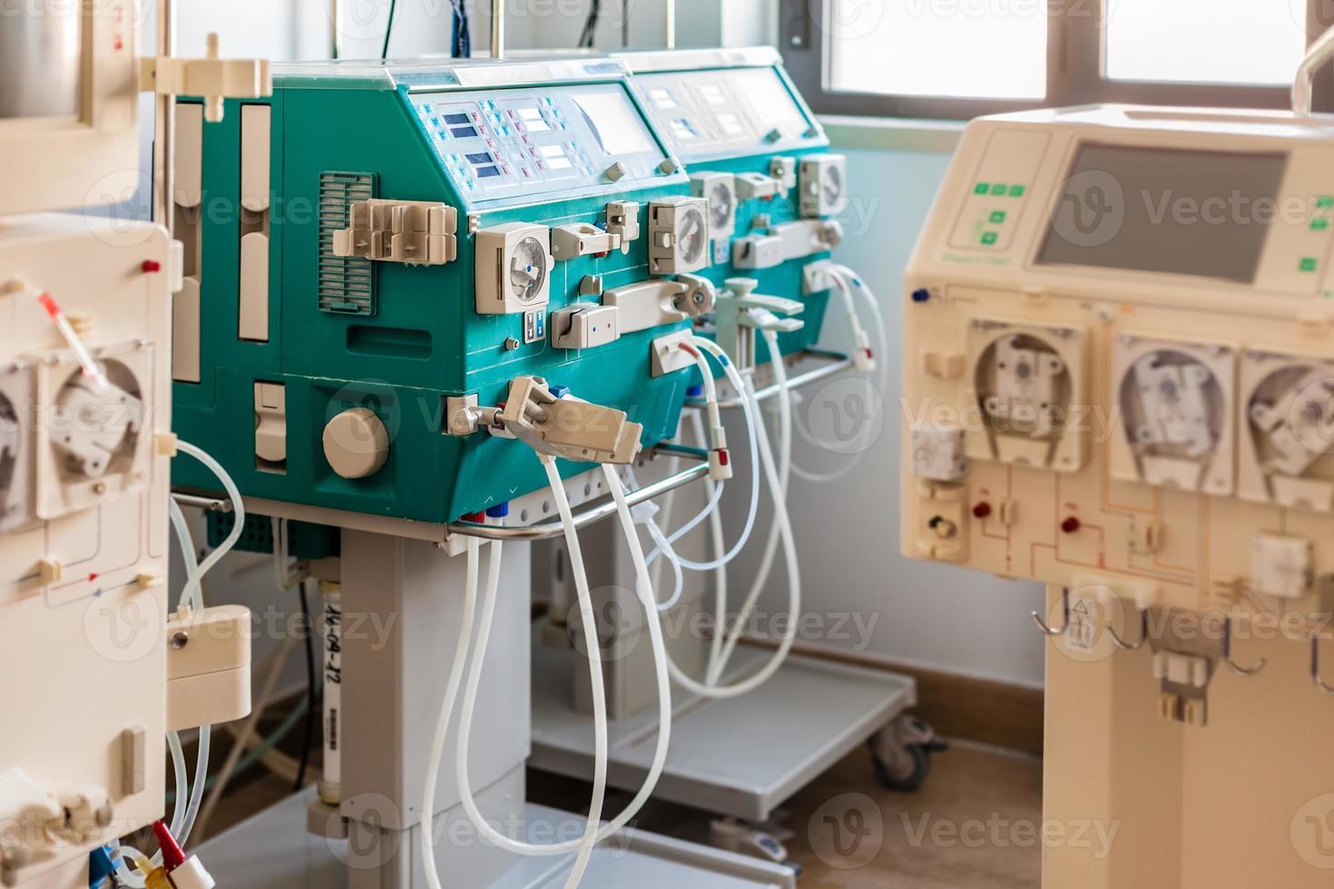 Hämodialysestation foto