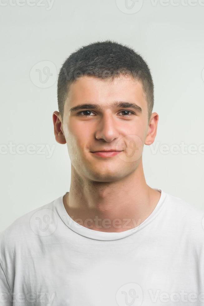Teenager lächelt foto