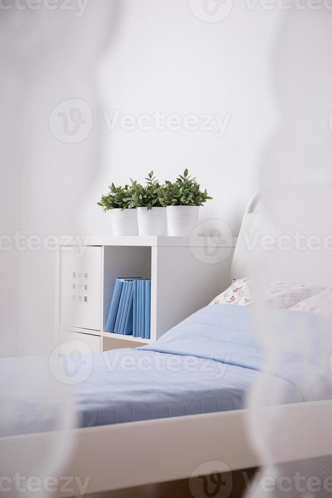 Schlafzimmer des Mädchens foto