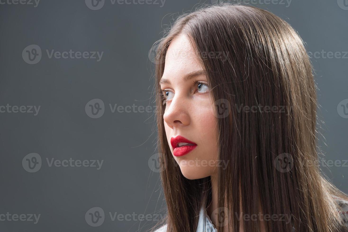 Porträt von Mädchen im Teenageralter foto