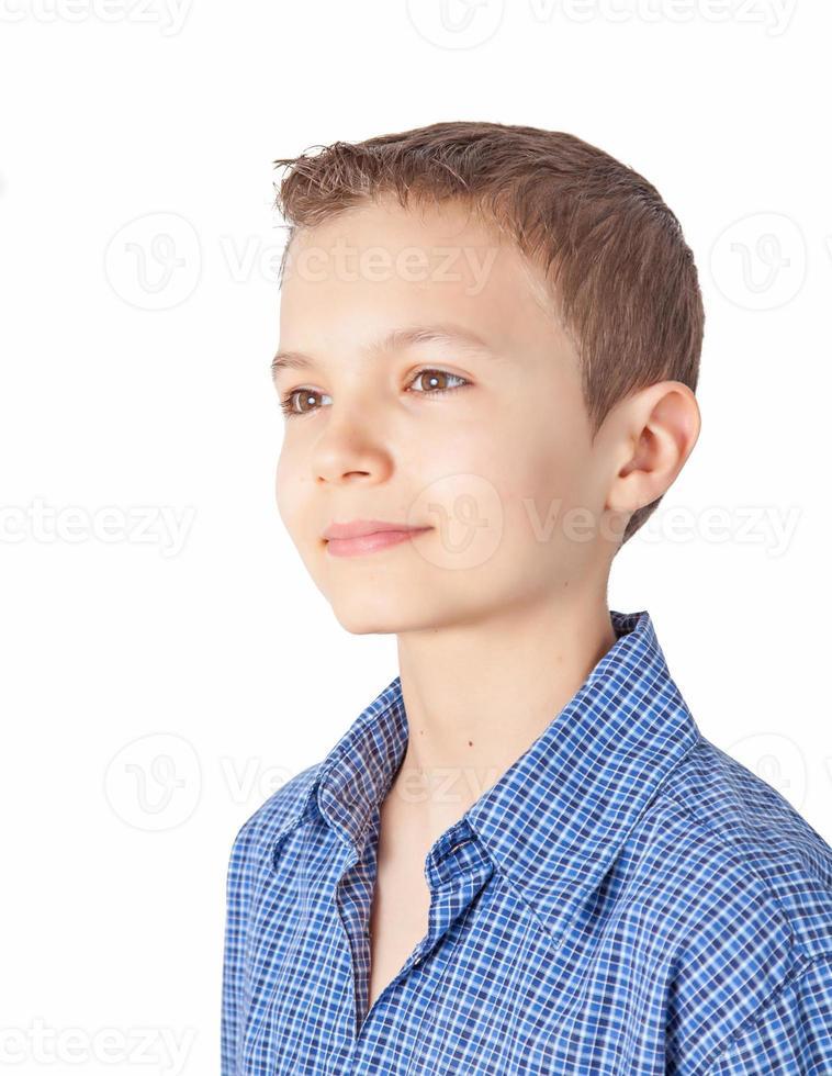 Porträt eines Teenagers foto