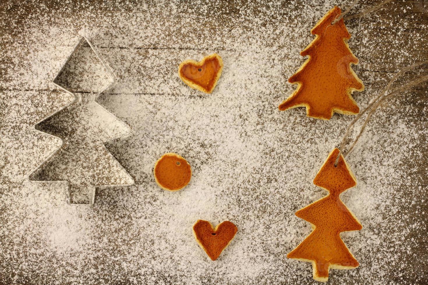 Weihnachtsdekorationen foto
