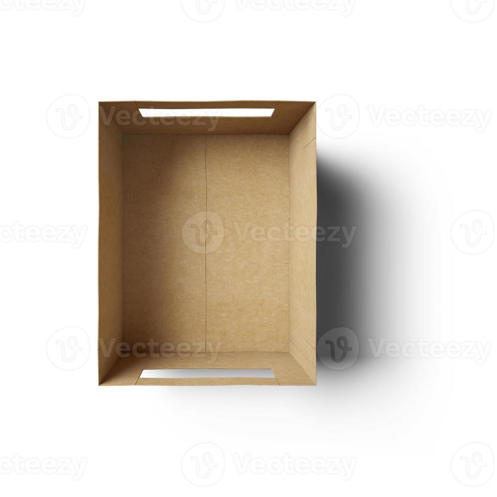 Leere Box foto