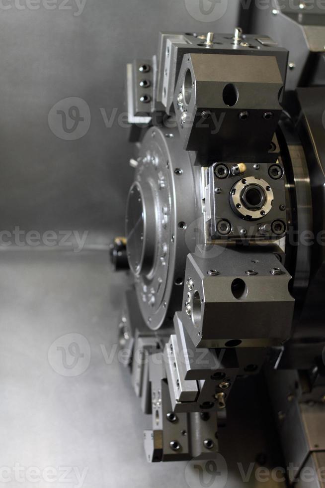 Spindel moderne Werkzeugmaschine. foto