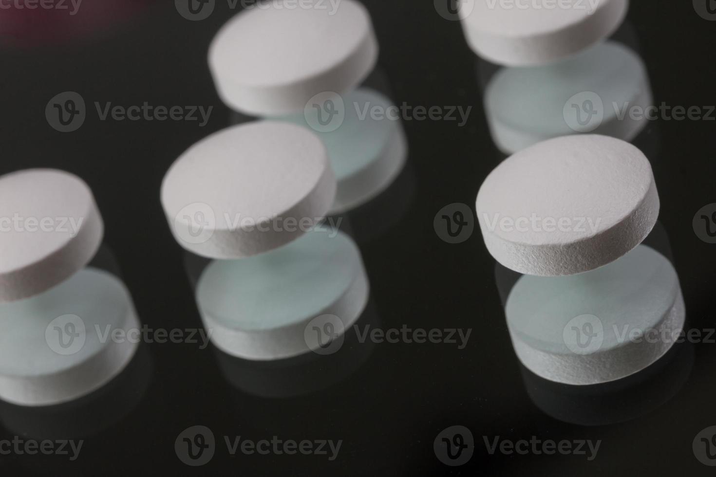 einfacher Medikamentenhintergrund foto