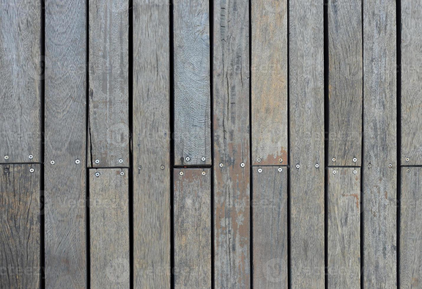 rustikales Holzwandmuster foto