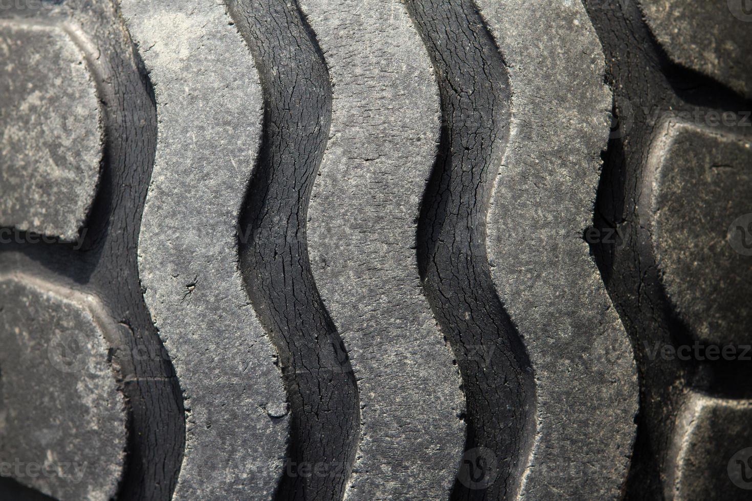 Muster alter Reifen foto