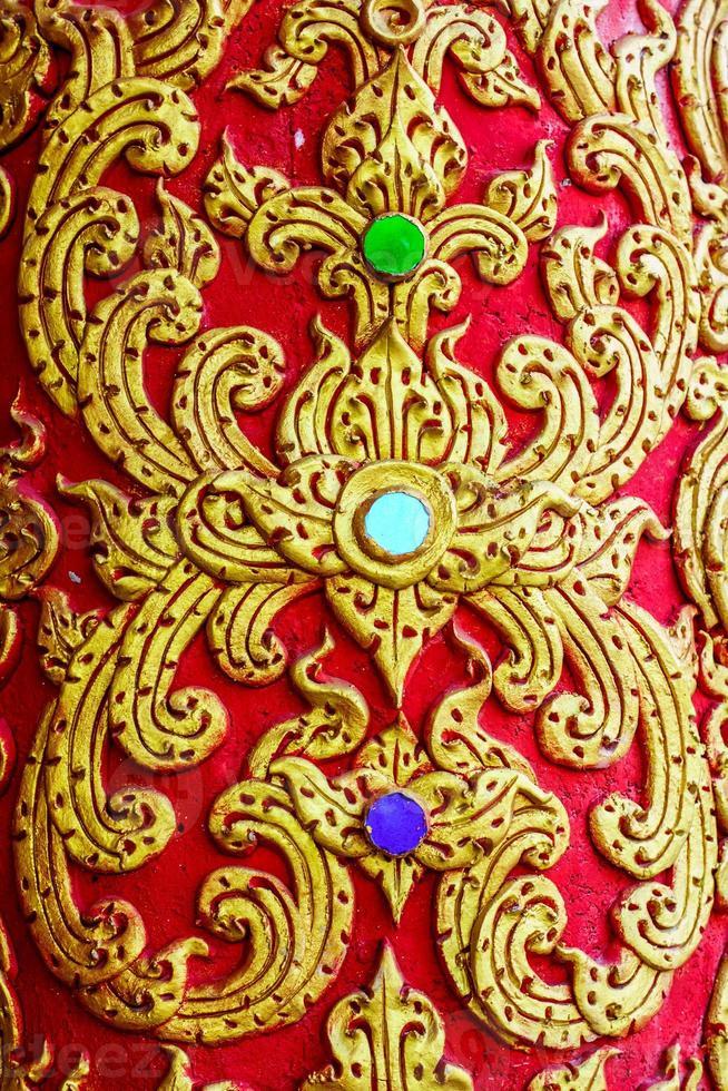 thailändisches Muster foto