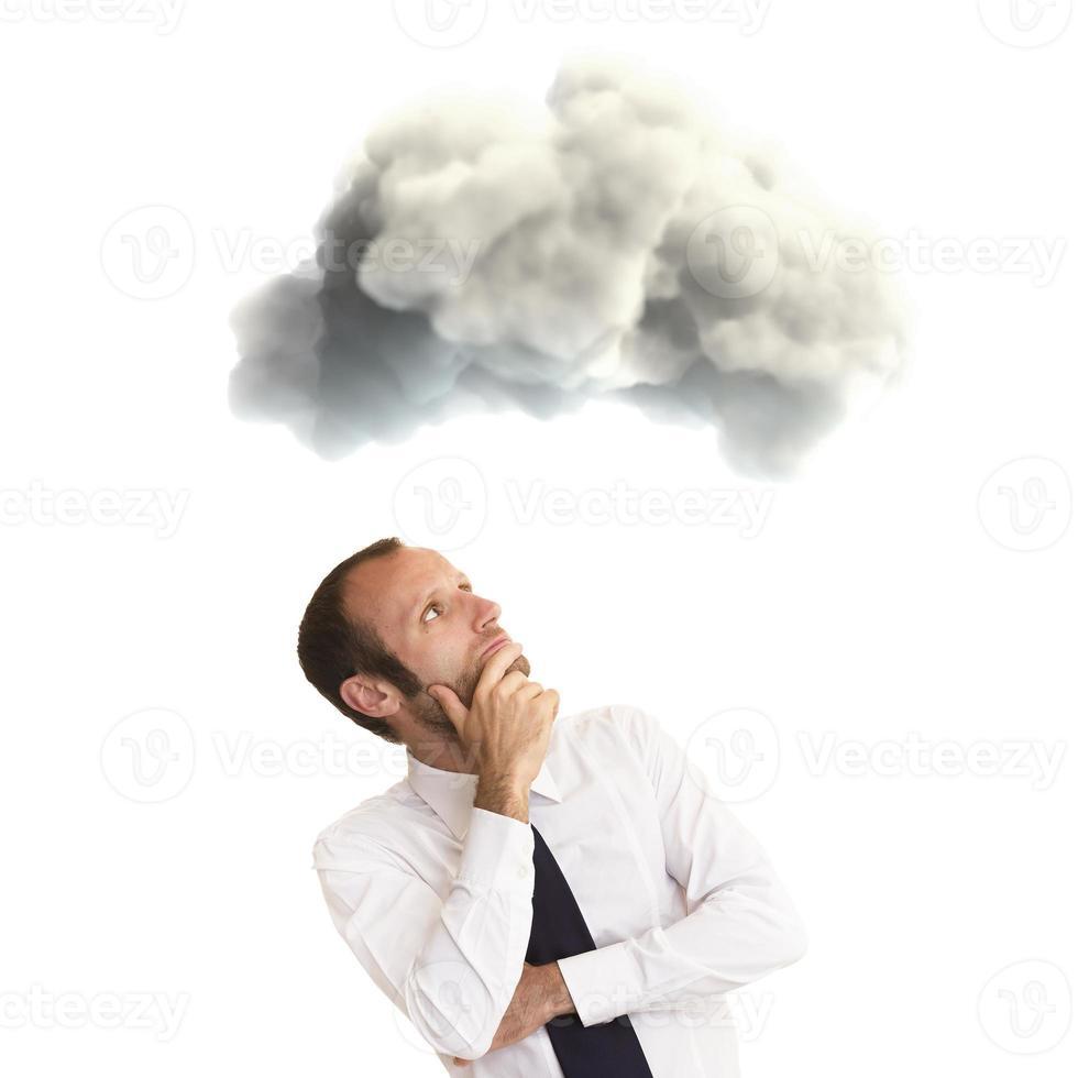 Angst vor Wolken foto