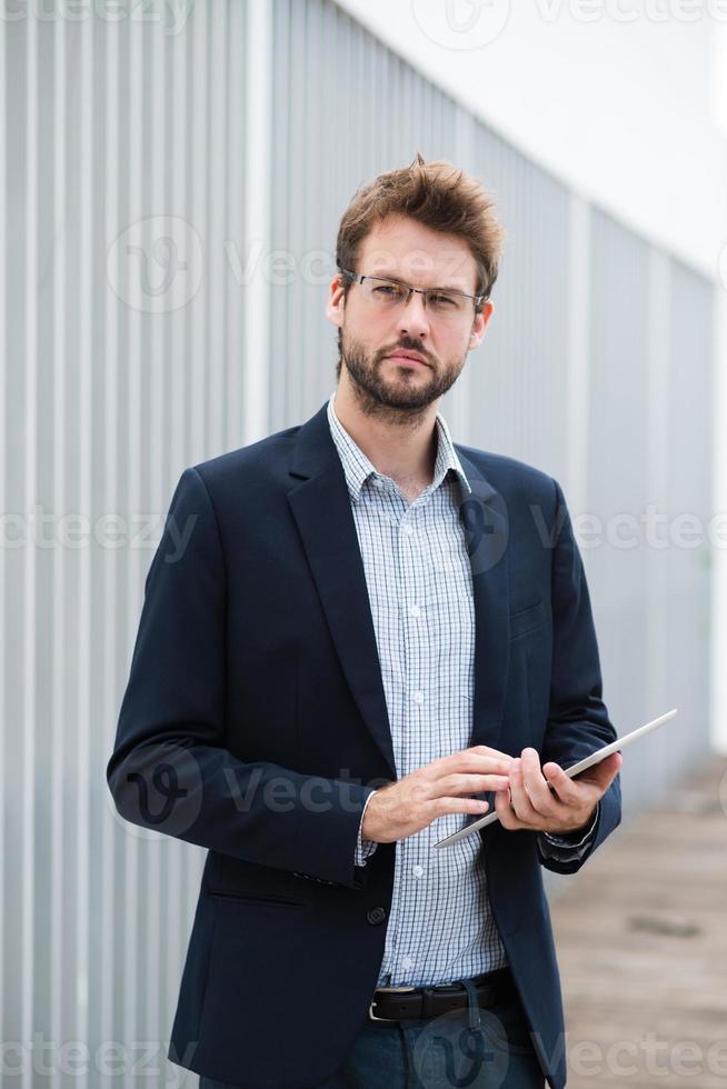 hübscher Geschäftsmann foto