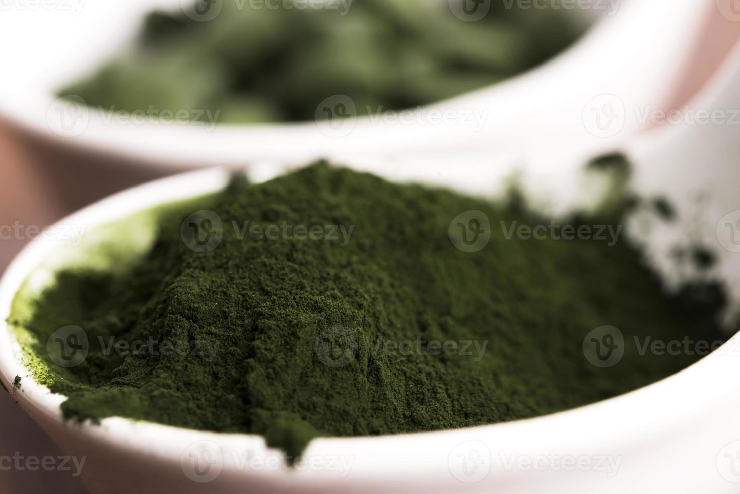 grüne Chlorella foto