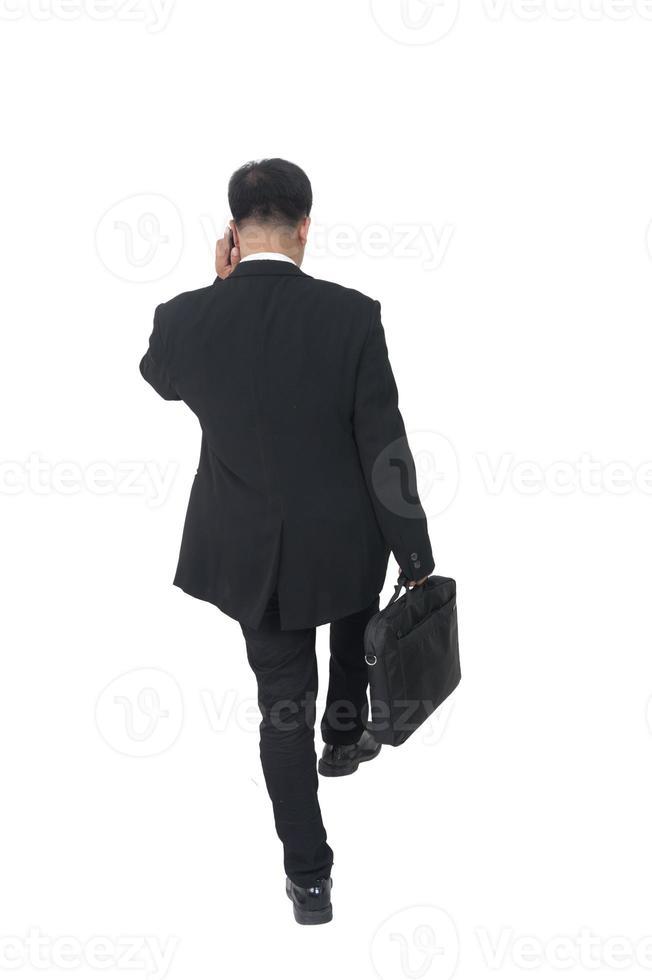Geschäftsmann mit Aktentasche foto