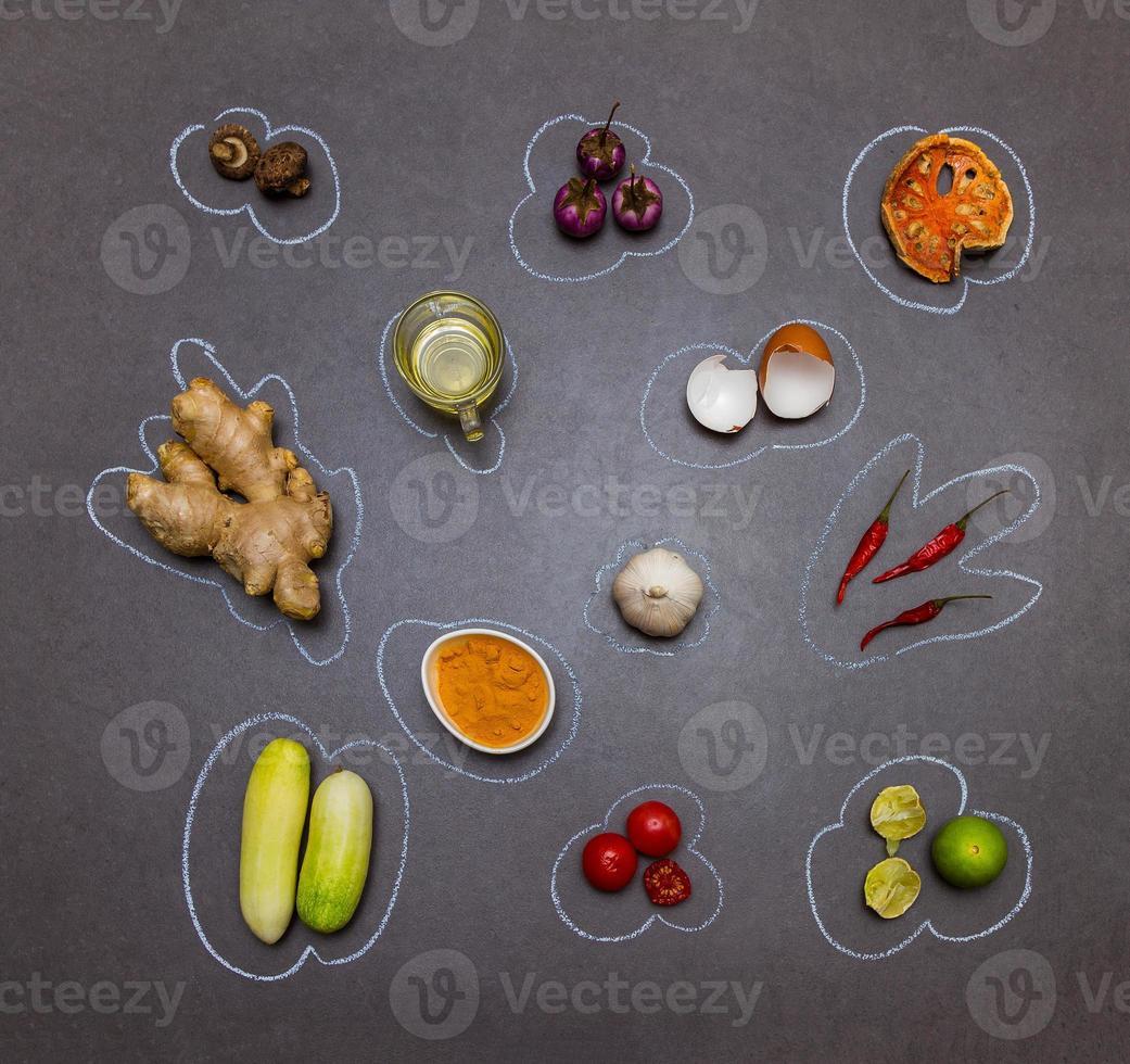 Gewürze für Lebensmittel. foto