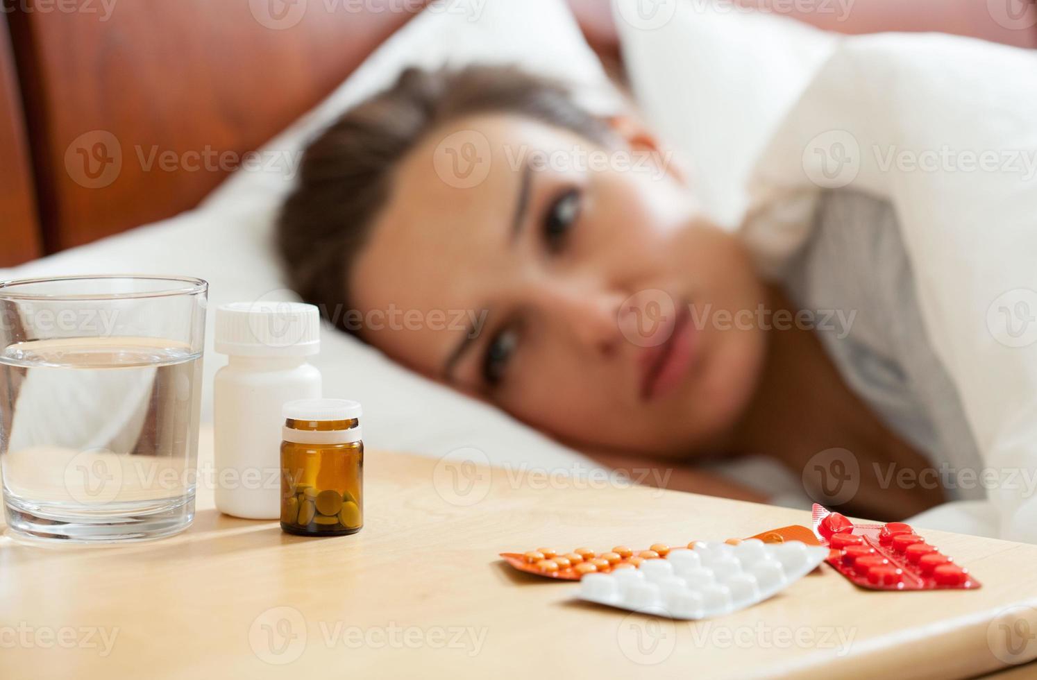 Medikamente für kranke Frauen foto