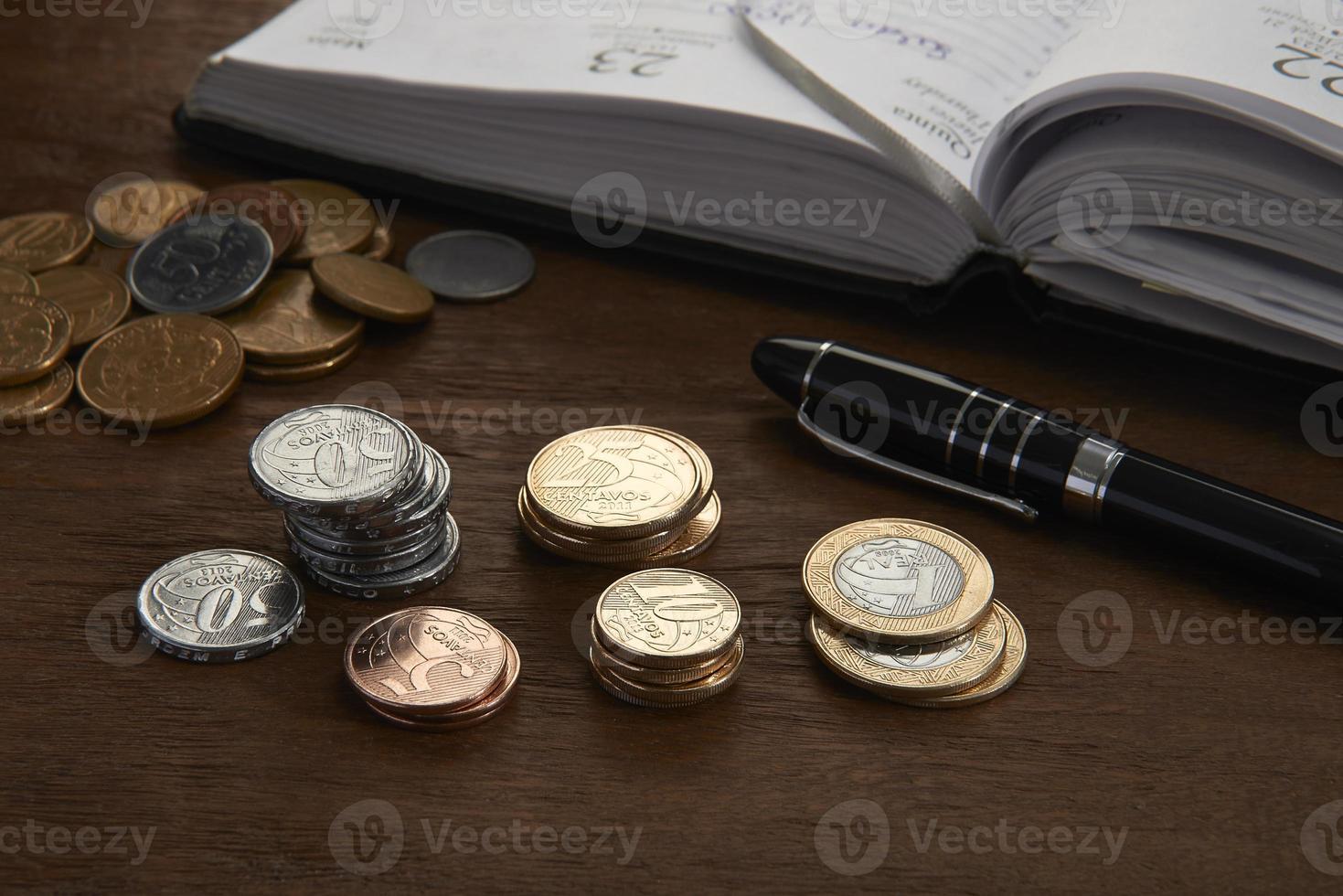 brasilianische Münzen foto