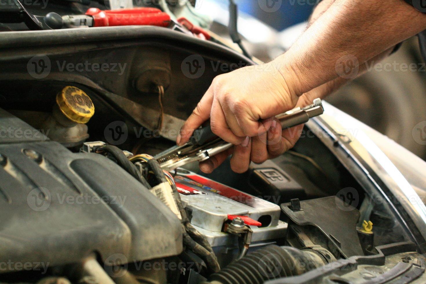 Automechaniker foto