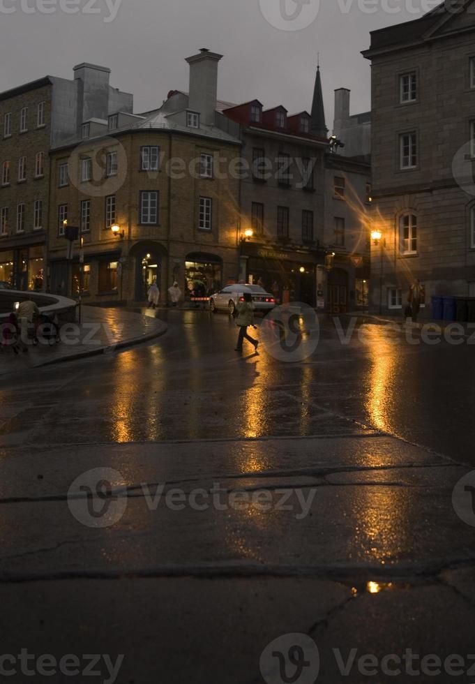 dunkler nachmittag in quebec foto