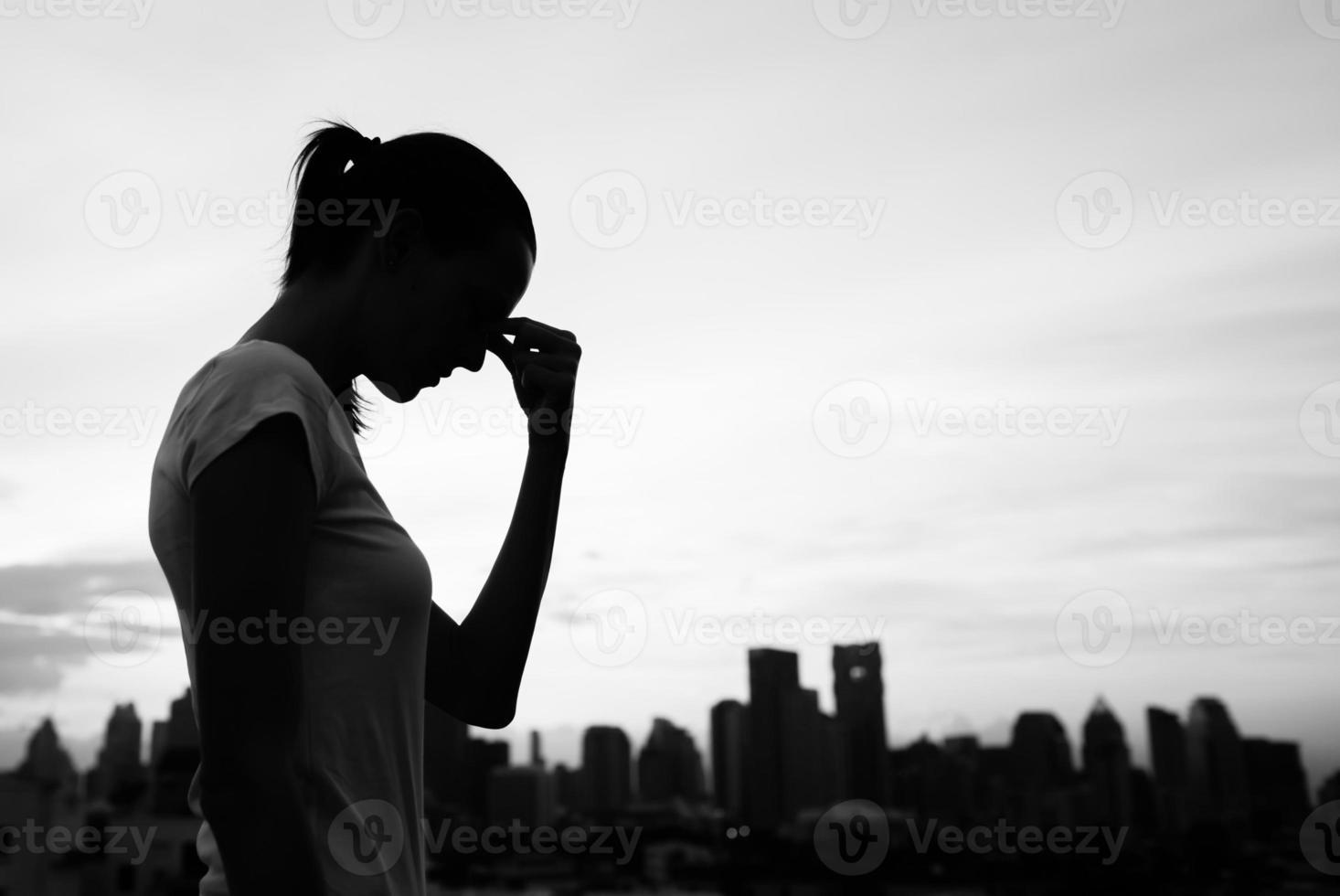 Stress in der Stadt foto