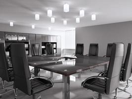 Konferenzraum 3d foto