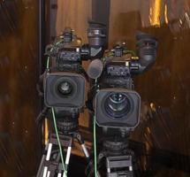 professionelle digitale Videokamera.