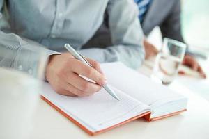 bereit zu schreiben
